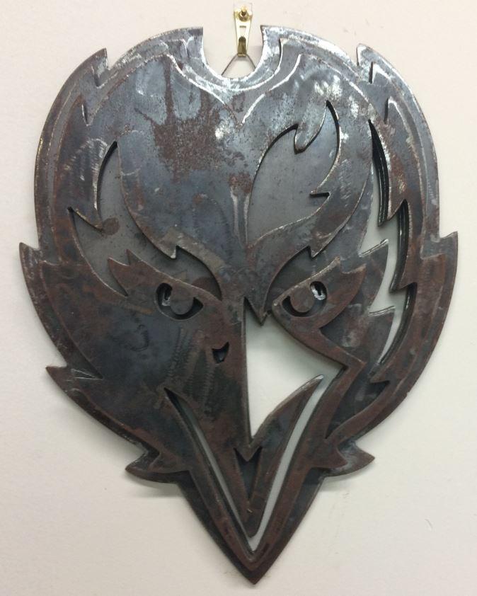 4 - Steel - Custom Metal Sign- Ravens (snip).JPG