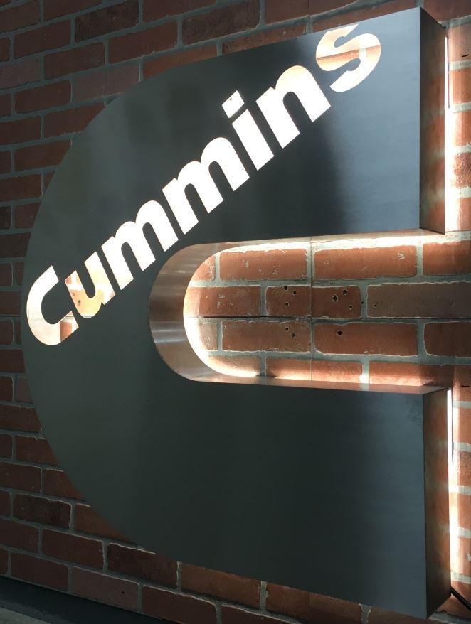 6 - Stainless - Custom Meta Sign - Cummins (snip).JPG