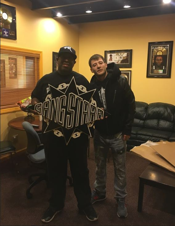 Made for a legend of music, DJ Premier. Take note of his gold records hanging on the wall!