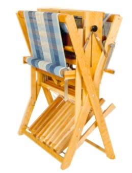 Leclerc Compact Portable Jack-Style Floor Loom — Blank Slate Textiles