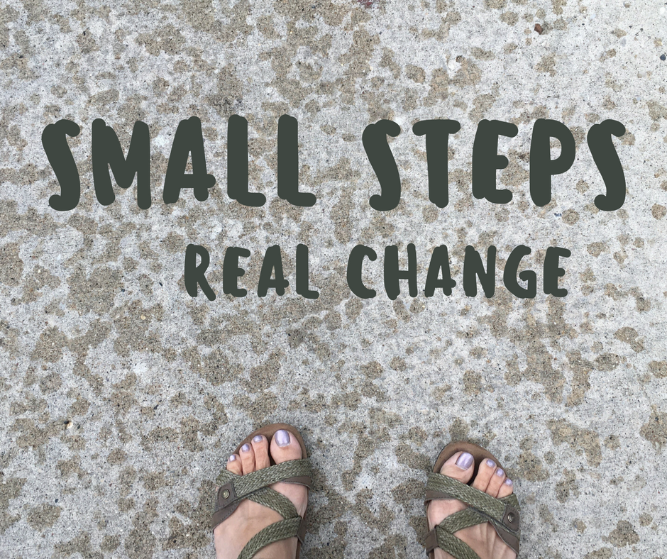 Small Steps Real Change