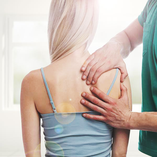 Osteopathy works to restore the body to a state of balance using touch, physical manipulation, and stretching