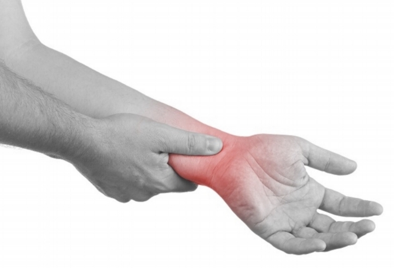 Classic acute inflammation: redness, heat, pain and swelling to an area