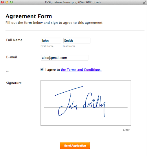Create Your Form -
