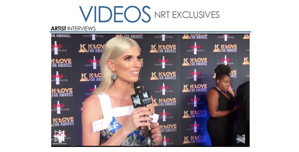 KLOVE Fan Awards 2017 Red Carpet Interview