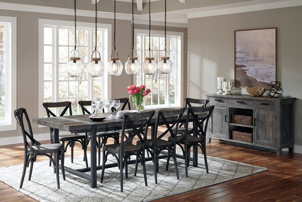Model Home Dining Rooms dining room — model home furnishings frisco