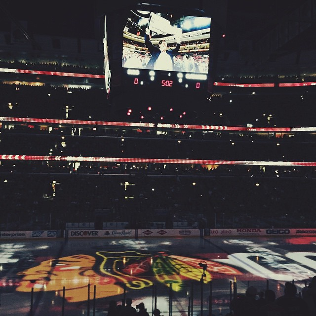 May 23rd - Game 4 of the Western Conference finals.  Hawks beat Ducks 5-4 in double OT.