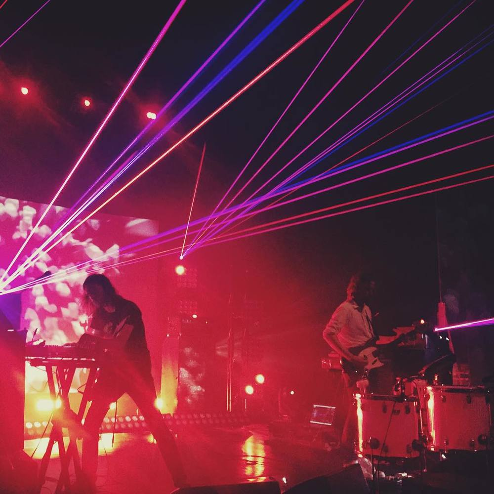 RATATAT at the Riviera in Uptown. LAZERS!