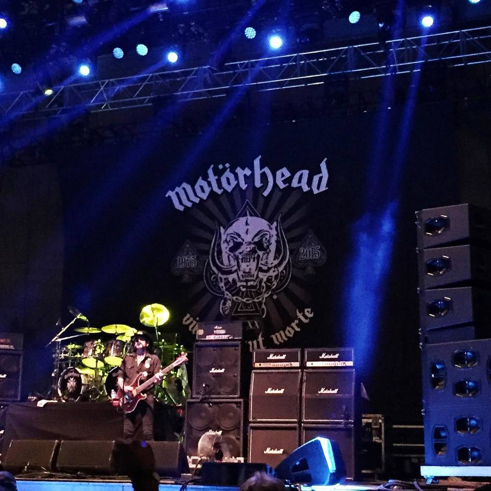 Motorhead at Riot Fest - I had never seen them live before even though they're one of my favorite bands. Thanks to Lemmy for not dying.