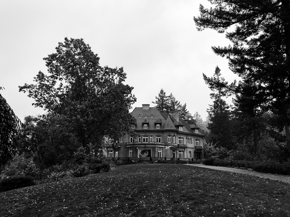 Portland, Oregon - Pittock Mansion
