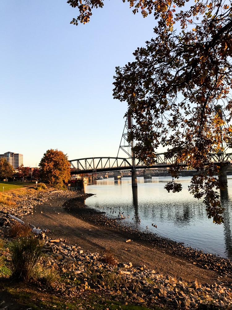 Sunrise on the Willamette River