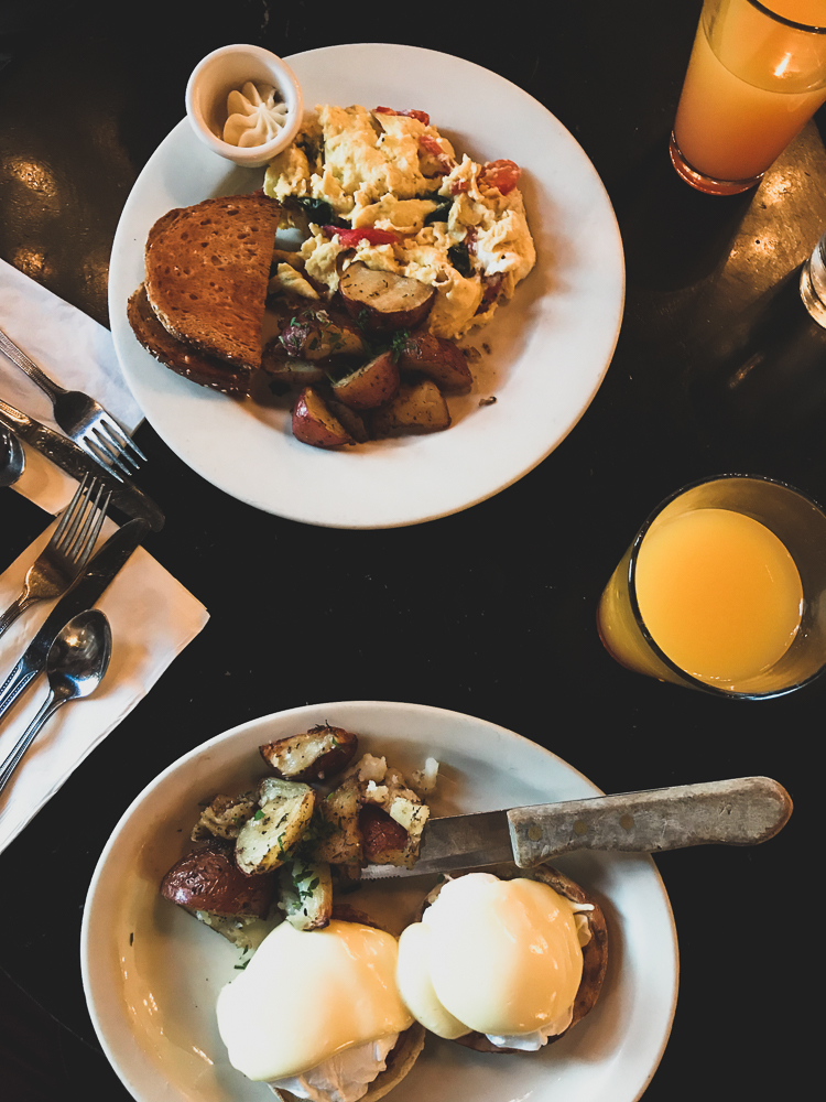 Breakfast at Mother's Bistro & Bar