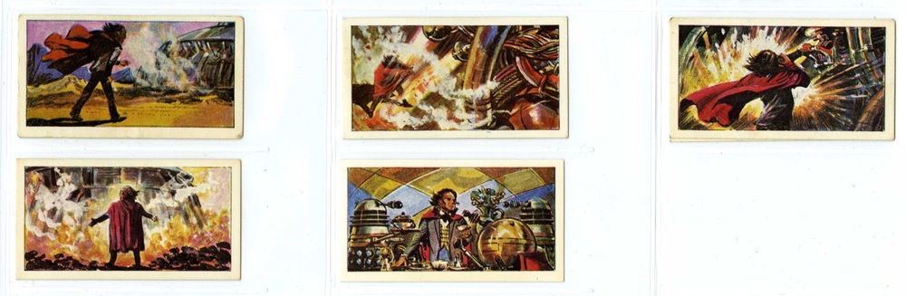 Cadet Sweets, Doctor Who and the Daleks Sweet Cigarettes. A series of 50 illustrated cards