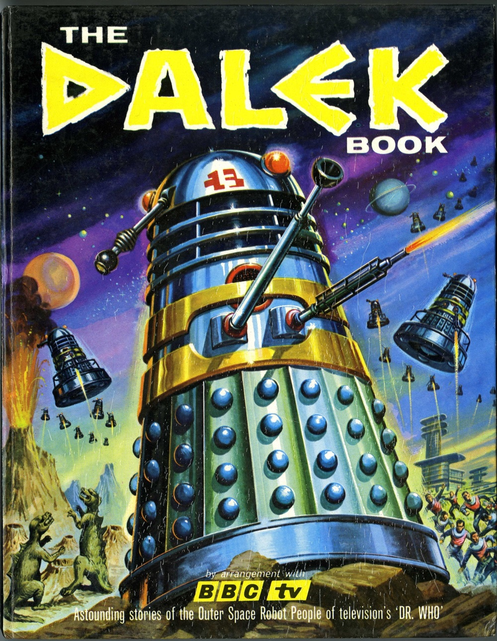 The Dalek Book. By David Whitaker and Terry Nation. Published by Panther Books in association with Souvenir Press