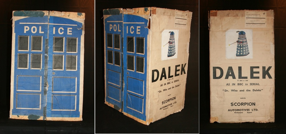 Scorpion Automotives Ltd. Dalek Playsuit shipping box