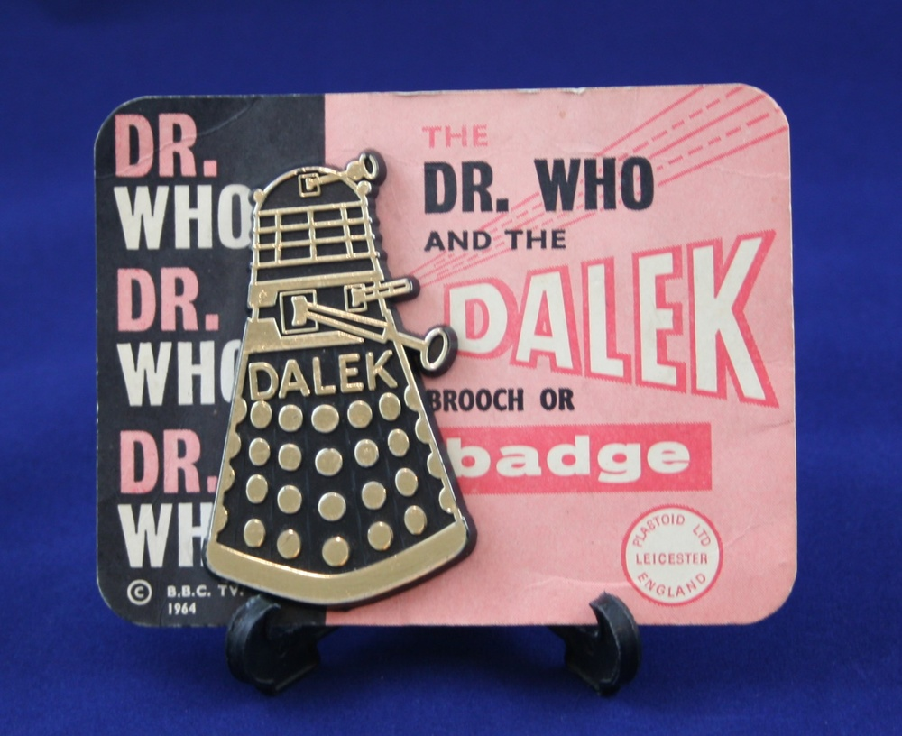 Plastoid Ltd., Dr. Who and the Dalek Brooch or Badge