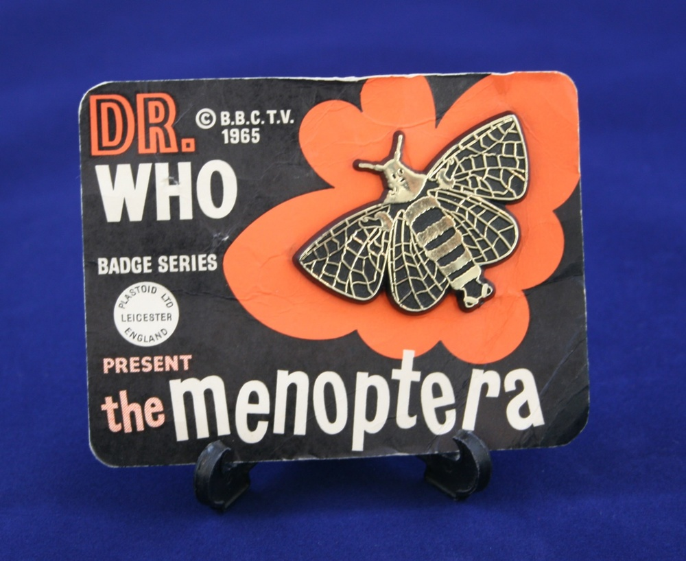 Plastoid Ltd., Dr. Who Badge Series present the Menoptera