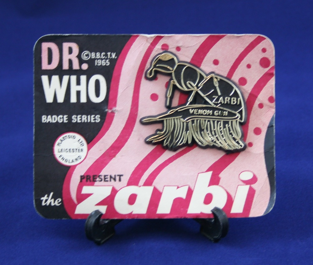 Plastoid Ltd., Dr. Who Badge Series present the Zarbi