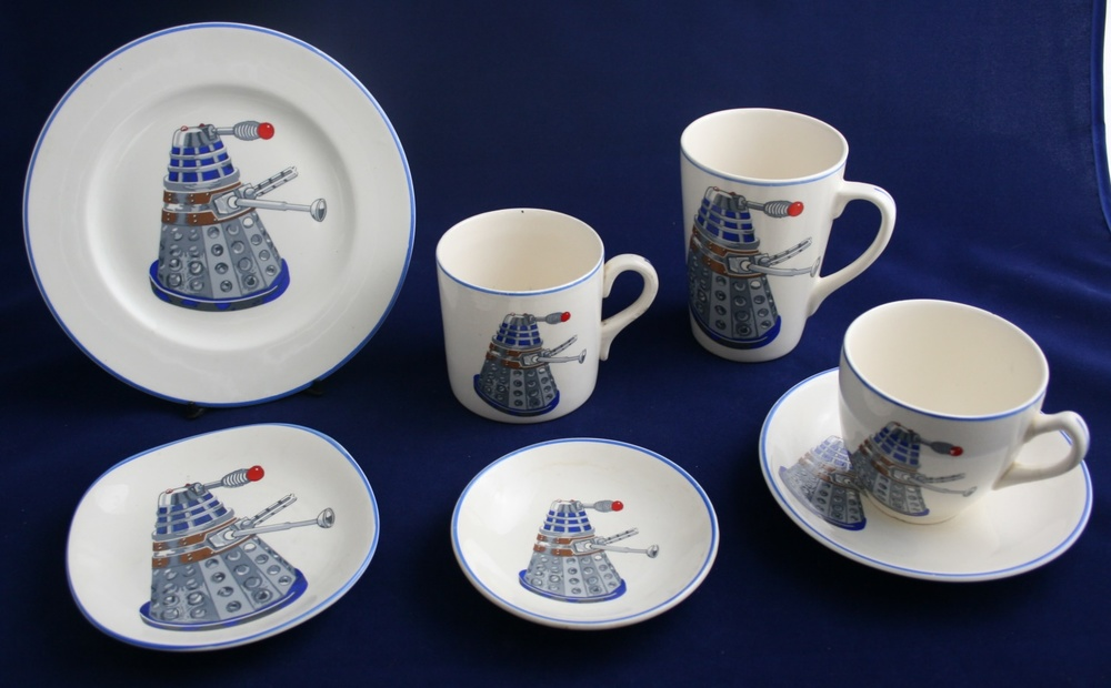 J H Weatherby and Sons Ltd., collection of Dalek Pottery