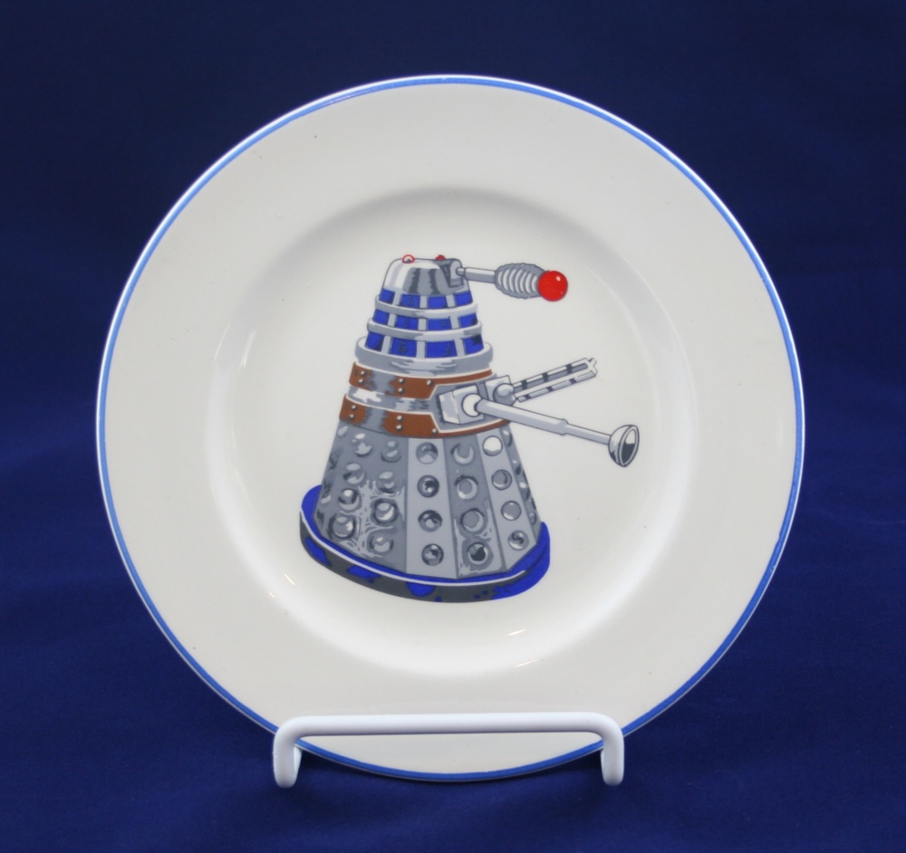 J H Weatherby and Sons Ltd., Dalek tea plate