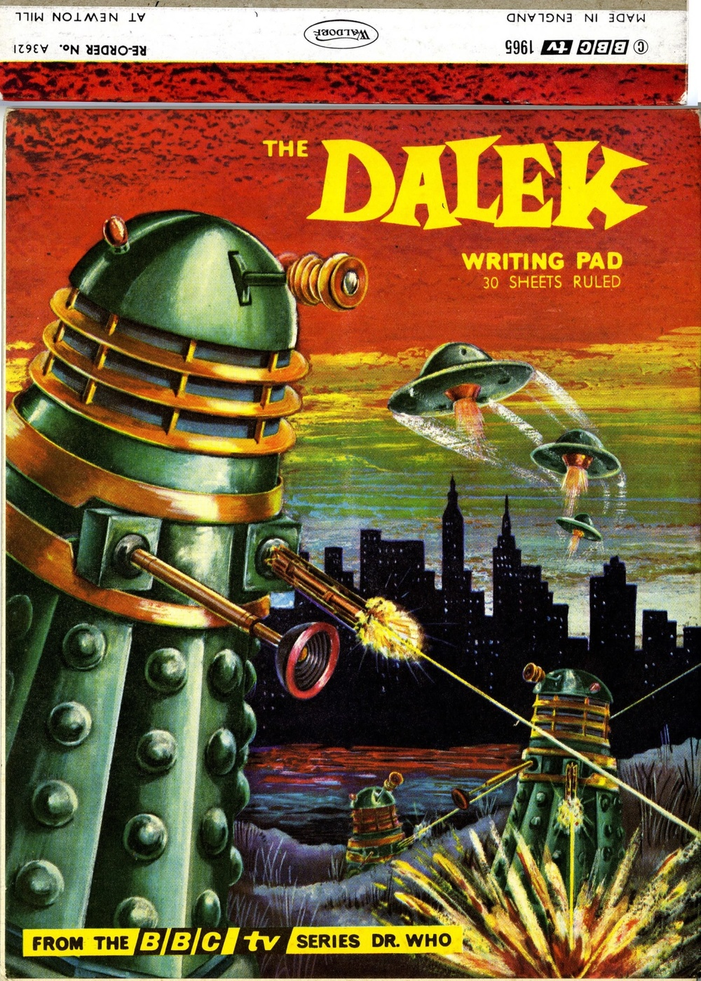Newton Mills Ltd., Waldorf Division, Dalek writing pad