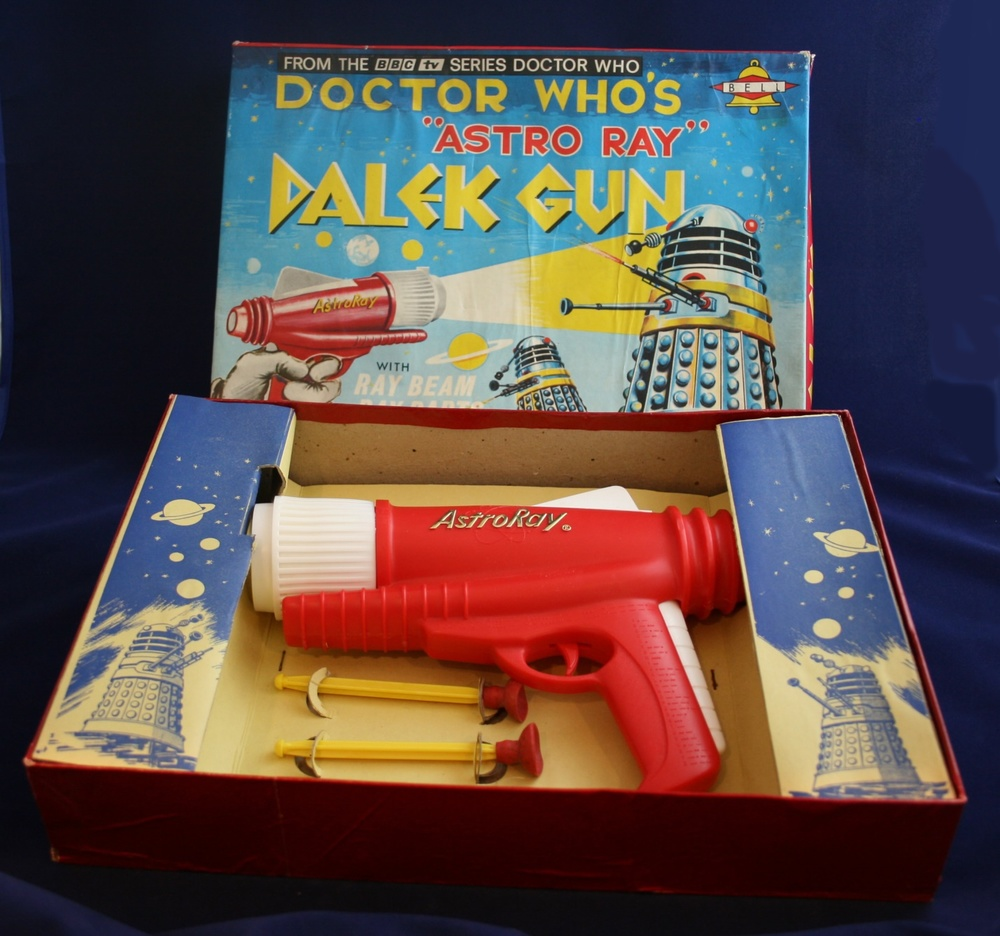 "Bell Toys Ltd., Doctor Who's ""Astro Ray"" Dalek Gun"