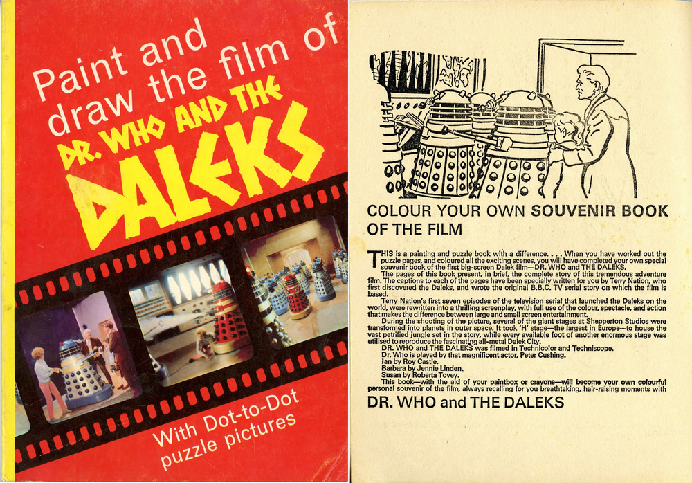 Souvenir Press in association with Panther Books Ltd., Paint and Draw the Film of Dr. Who and the Daleks