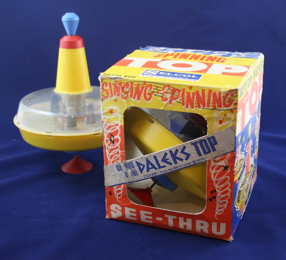Selcol Products Ltd., Dr. Who and the Daleks Spinning Top