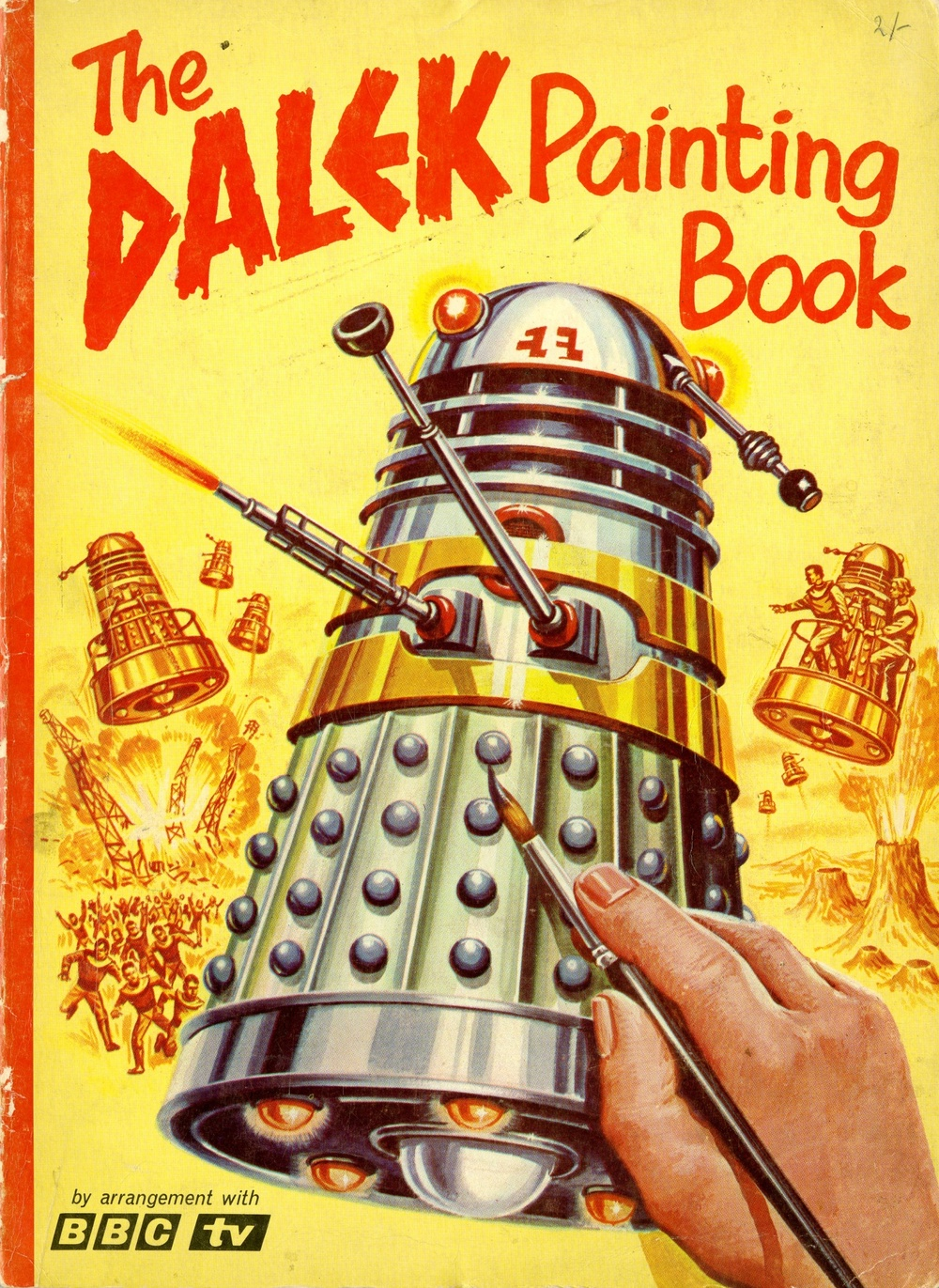 Souvenir Press in association with Panther Books Ltd., The Dalek Painting Book