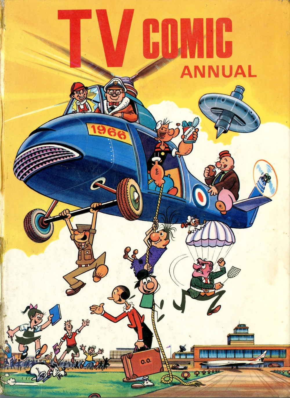 TV Comic Annual 1966 (published 1965), which includes Doctor Who comic strips