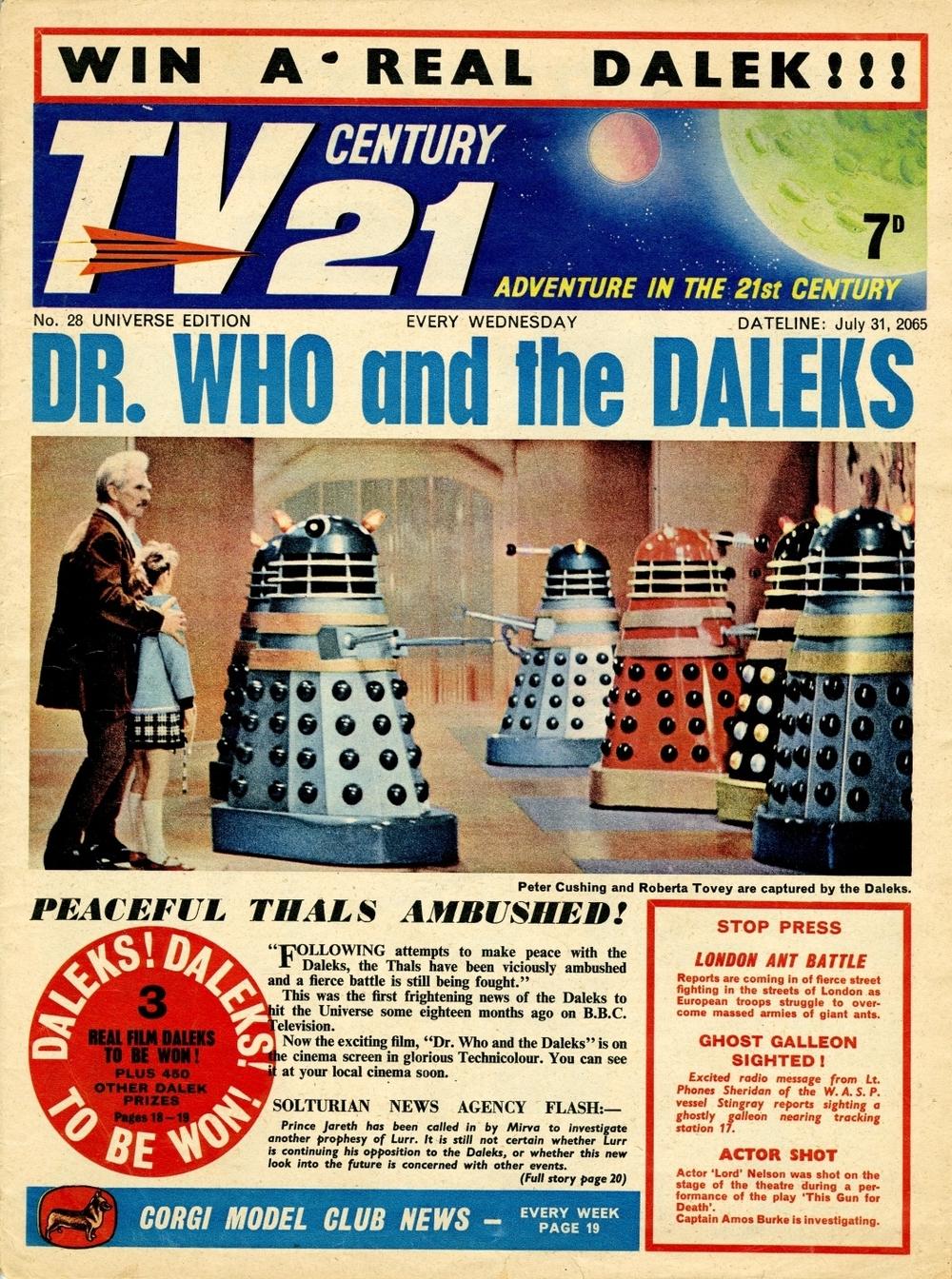 TV Century 21 #28, July 31, 2065 (1965)