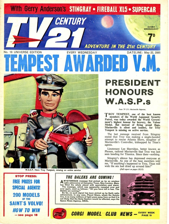 TV Century 21 #18, May 22, 2065 (1965)