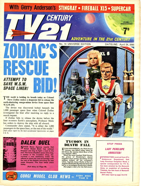 TV Century 21 #14, April 24, 2065 (1965)