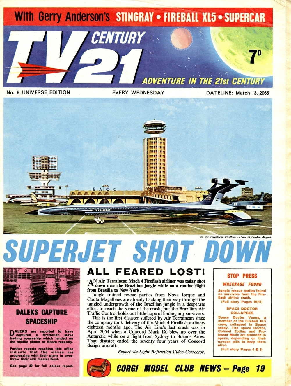 TV Century 21 #8, March 13, 2065 (1965)