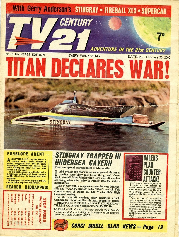 TV Century 21 #5, February 20, 2065 (1965)