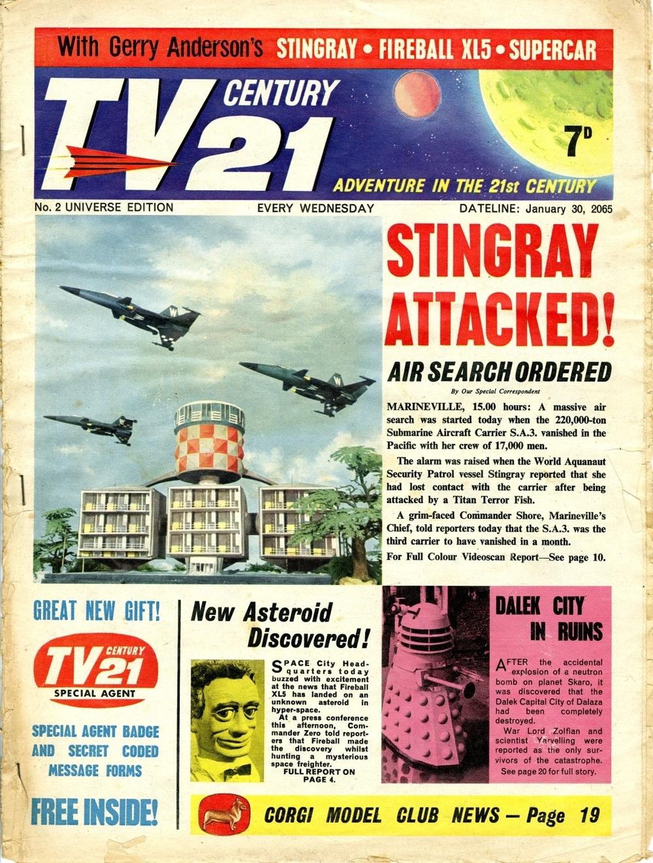TV Century 21 #2, January 30, 2065 (1965)