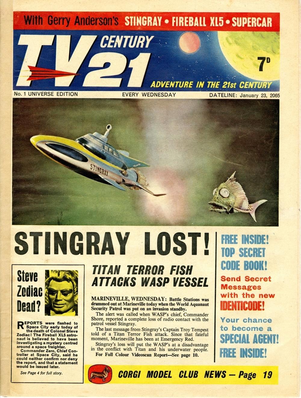 TV Century 21 #1, January 23, 2065 (1965)
