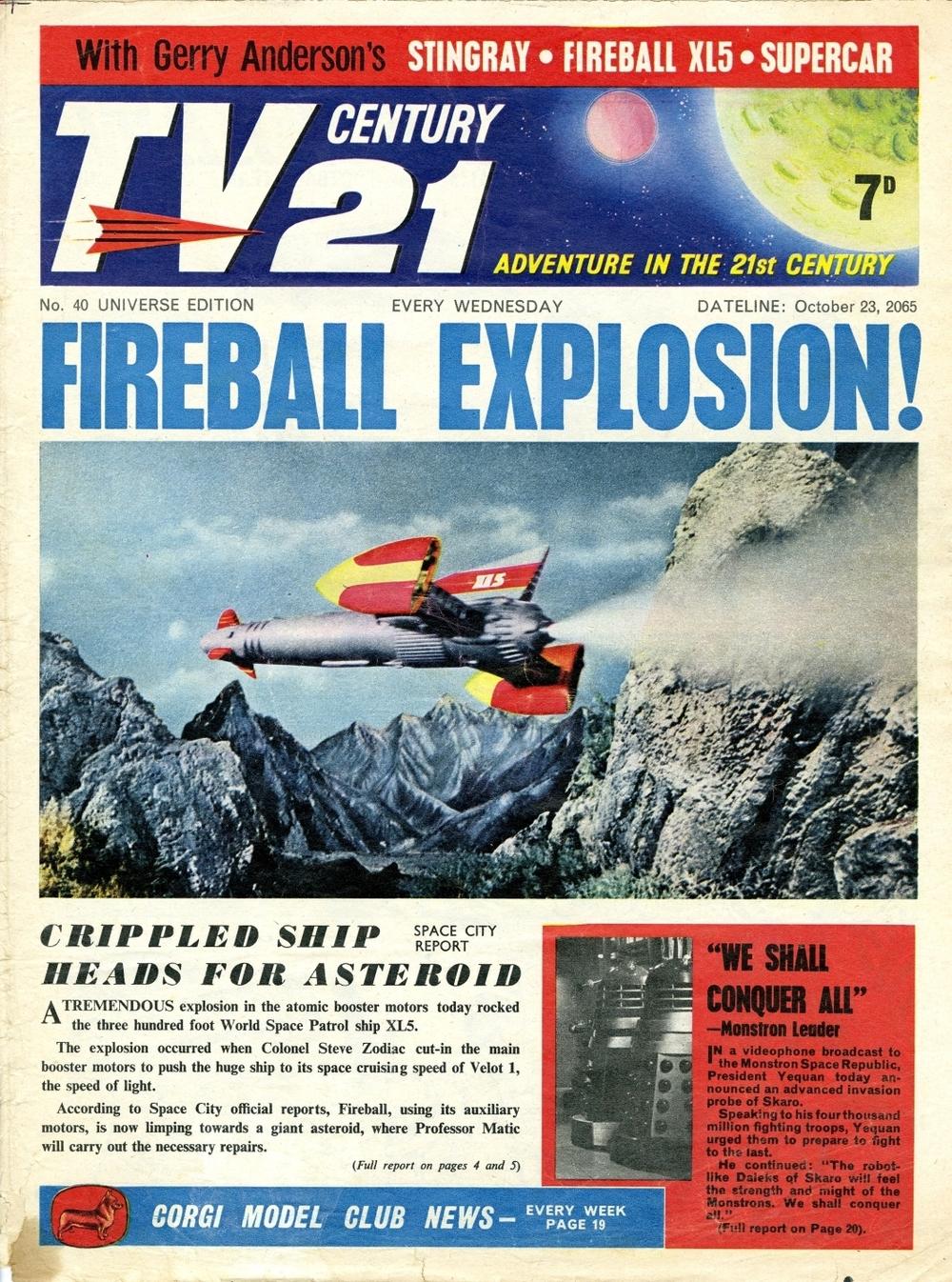 TV Century 21 #40, October 23, 2065 (1965)
