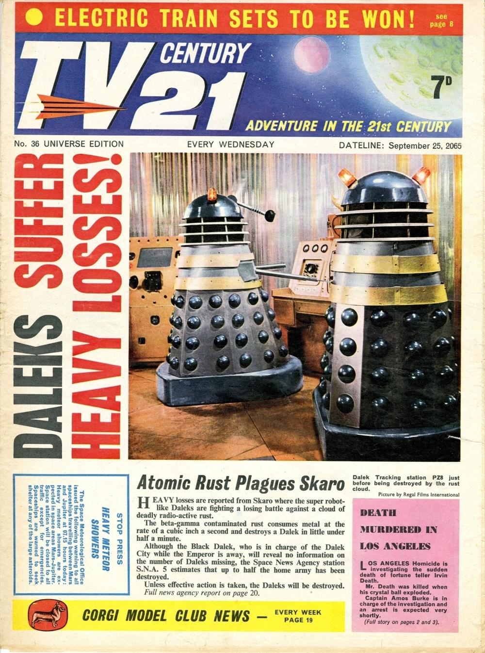 TV Century 21 #36, September 25, 2065 (1965)
