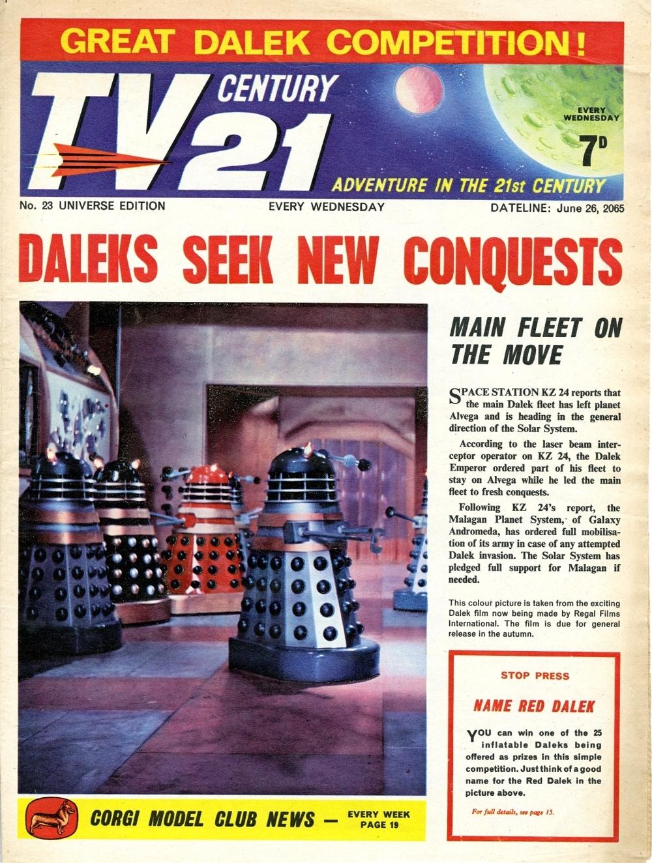 TV Century 21 #23, June 26, 2065 (1965)