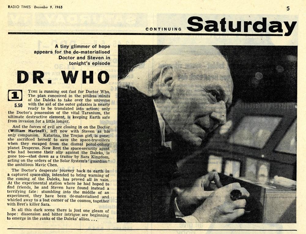 Radio Times, December 11-17, 1965