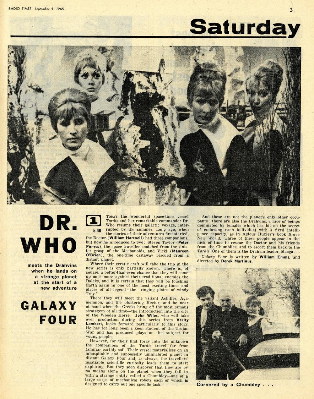 Radio Times, September 11-17, 1965