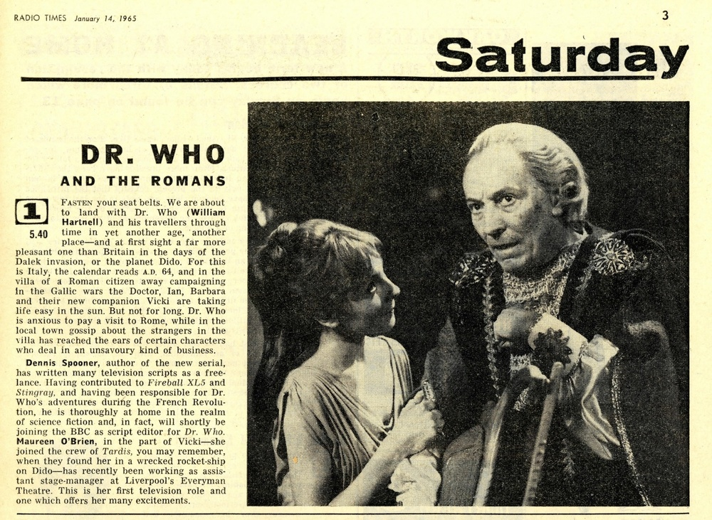 Radio Times, January 16-22, 1965