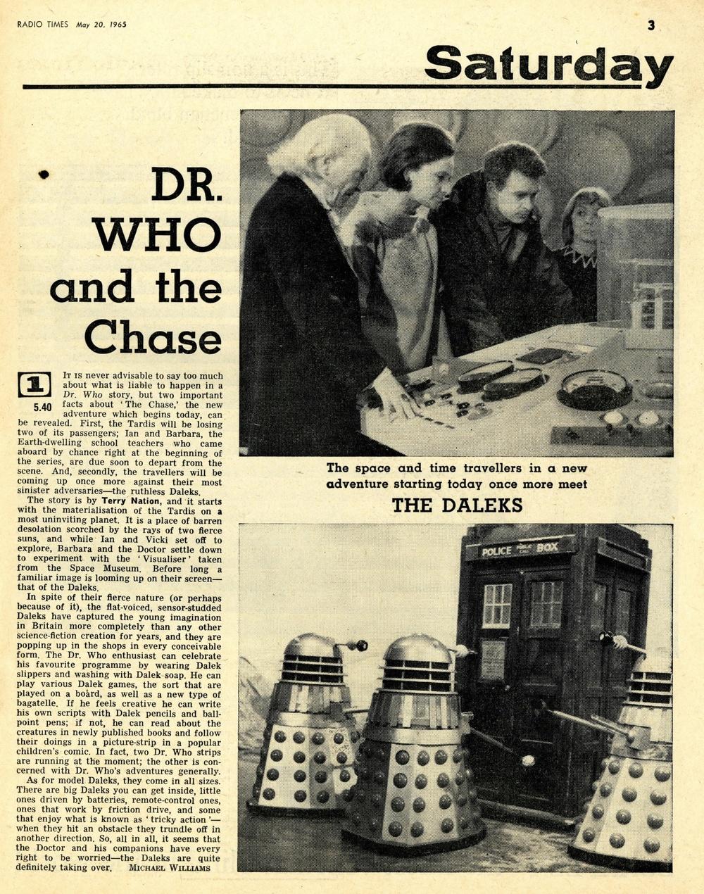 Radio Times, May 22-28, 1965