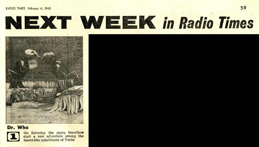 Radio Times, February 6-12, 1965