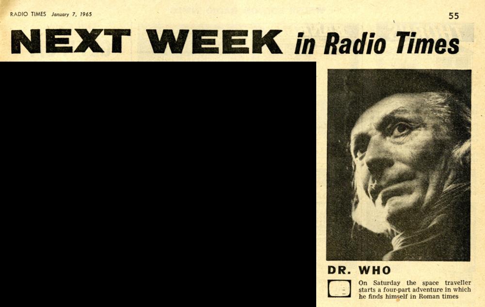 Radio Times, January 9-15, 1965