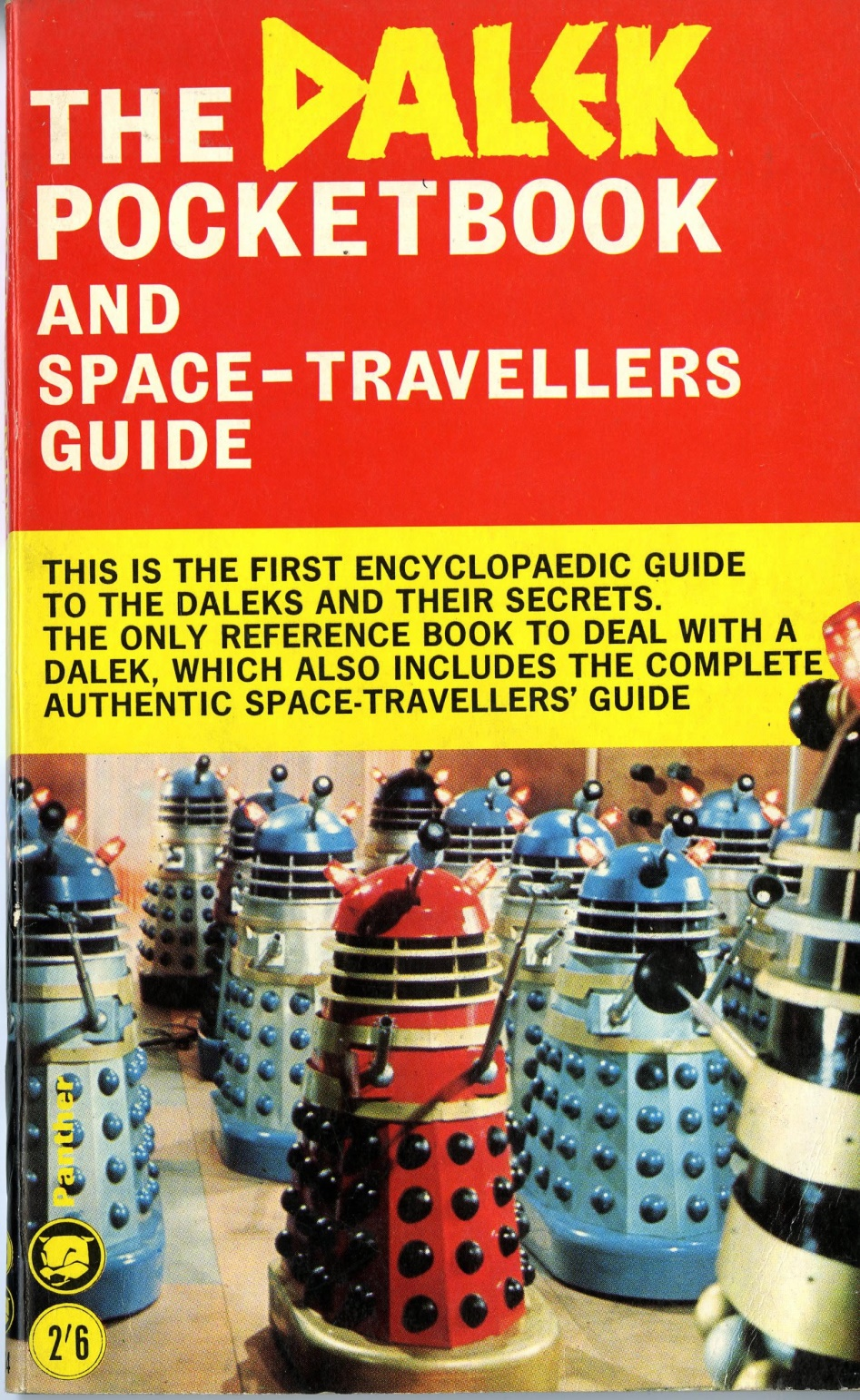 Panther Books Ltd., in association with Souvenir Press Ltd., The Dalek Pocketbook and Space-Travellers Guide