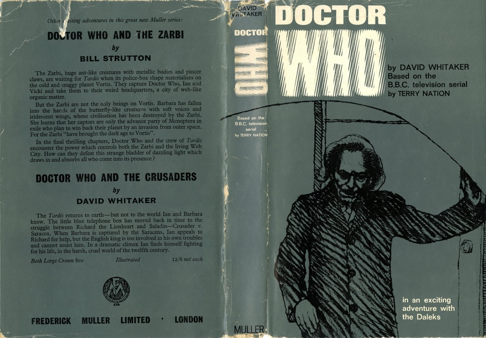 Frederick Muller Ltd., Doctor Who. In An Exciting Adventure With The Daleks by David Whitaker (3rd impression)