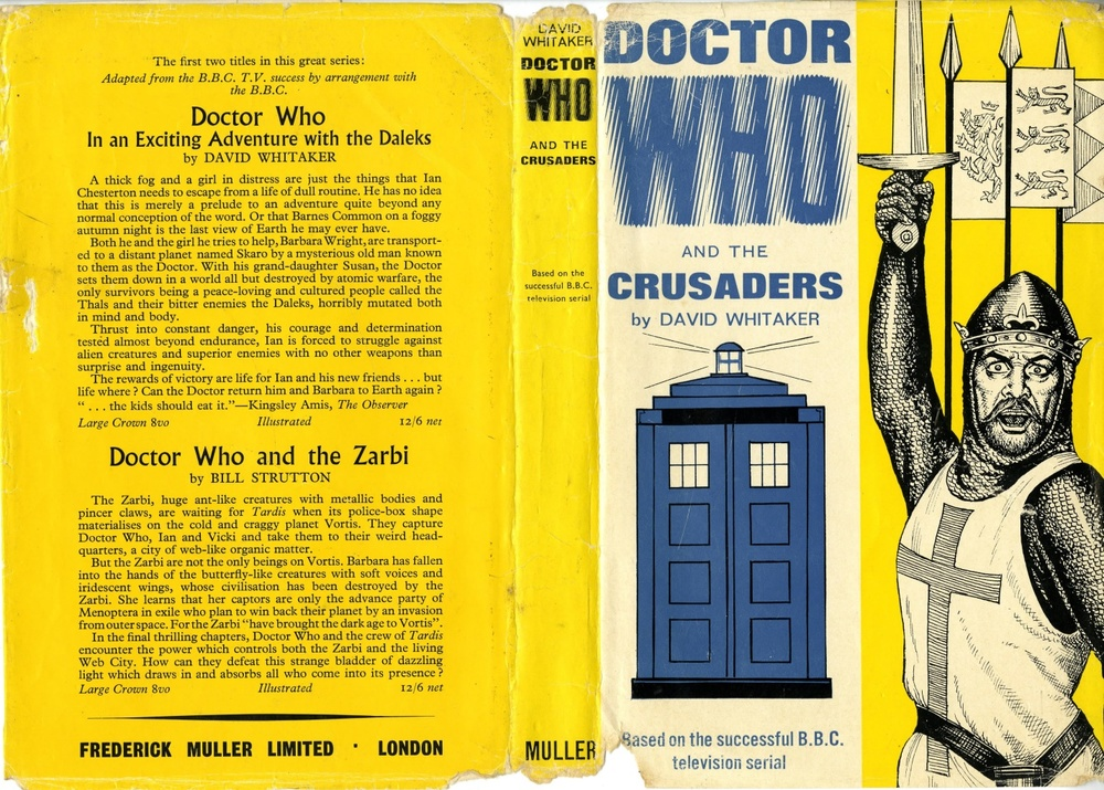 Frederick Muller Ltd., Doctor Who and the Crusaders by David Whitaker