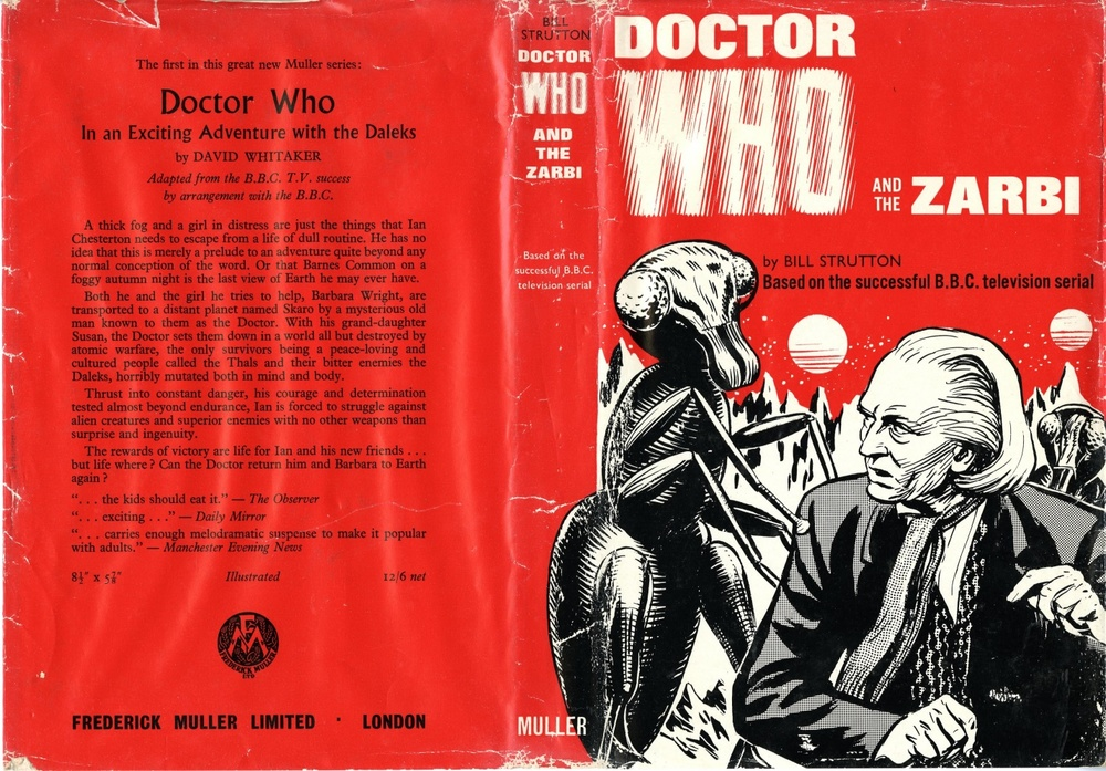 Frederick Muller Ltd., Doctor Who and the Zarbi by Bill Strutton